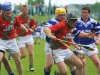Niall Maloney, Dermot Lawlor and Philip Shore in action versus Erins Own