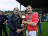 Niall Moloney accepts Cup from Ned Quinn (2002)