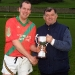 Richard Nolan Saint Martins Captain with Joe Pyke
