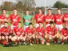 St. Martins under-21 Hurling team who defeated Clara in the Northern Final.  Back: Mick Morrissey, Diarmuid Brennan, Eoin Bolger, Aidan Murphy, Oliver Walsh, Mark Murphy, Podge Haughney, Mick Kane, Noel D'Arcy, James Kelly, Geoff Doyle, Brian Byrne, Canice Maher.  Front:  John Maher, James Maher, John Mulhall, Ronan Maher, Joe Maher, Paddy Nolan, James Dowling, Brian Mulhall (captain), Tomas Breen, Colin McGrath, Cathal Healy, Paddy Dowling. (Photograph: Eoin Hennessy)
