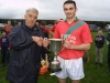Brendan Maher  recieves from Richie Stone (u21 Cup2002)