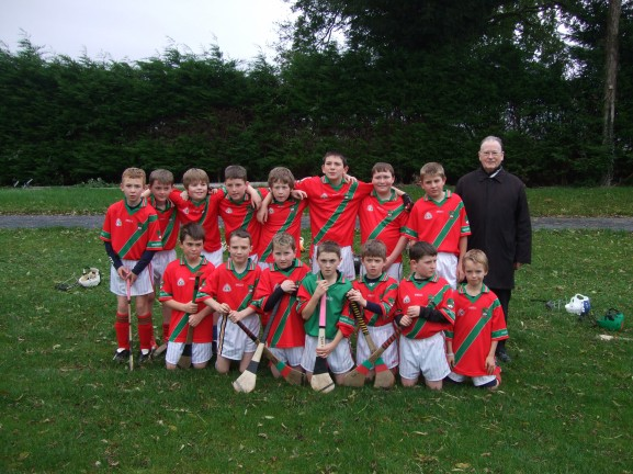 U10 Team who won the Fr. Delaney tournament.