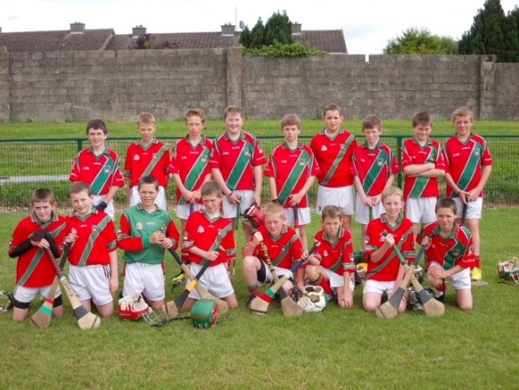 U12 team for Callan Blitz 2013