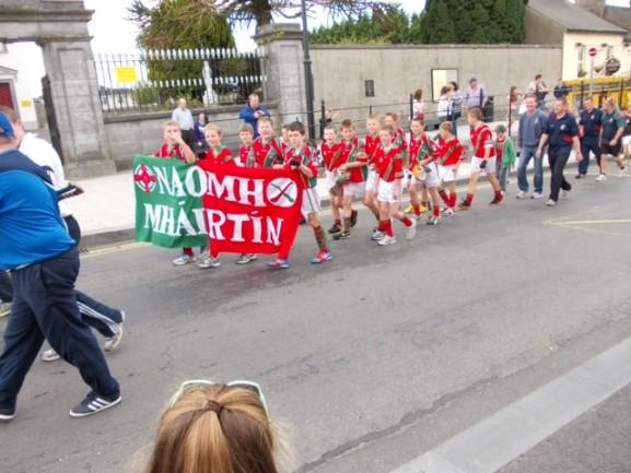 St. Martins in Callan Parade