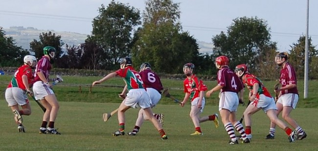 Minors in championship action against Clara