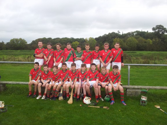 U12 Team that played Paulstown 2013
