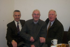 Jim Bolger with Nickey and Martin Morrissey