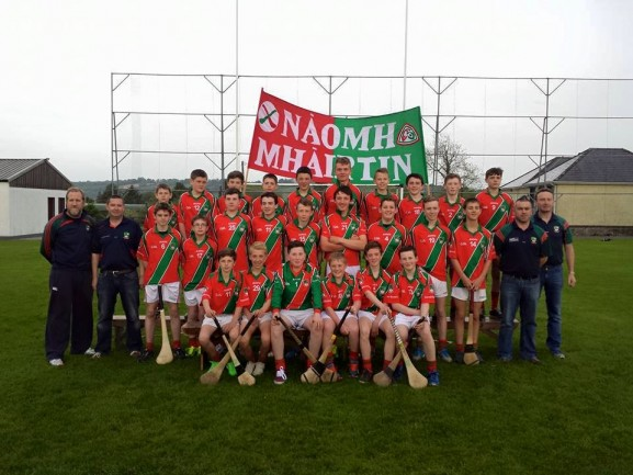 St. Martins U14 Hurling team all set for Ulster