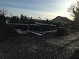 work progressing nicely in Muckalee
